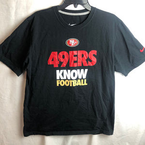 Nike 49ers Know Football T Shirt San Francisco